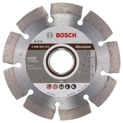 Bosch Standard Seri Aşındırıcı Malzemeler İçin Elmas Kesme Diski 115 mm