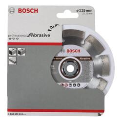 Bosch Standard Seri Aşındırıcı Malzemeler İçin Elmas Kesme Diski 115 mm - Thumbnail