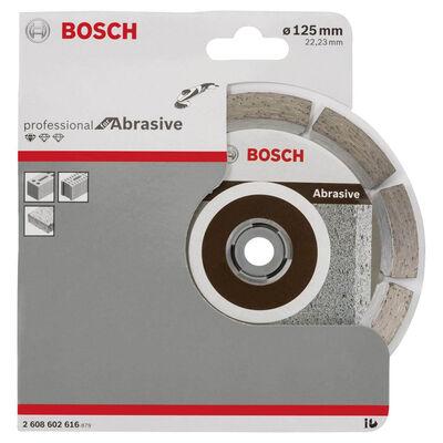 Bosch Standard Seri Aşındırıcı Malzemeler İçin Elmas Kesme Diski 125 mm BOSCH