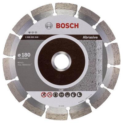 Bosch Standard Seri Aşındırıcı Malzemeler İçin Elmas Kesme Diski 180 mm