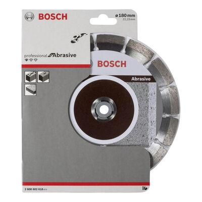 Bosch Standard Seri Aşındırıcı Malzemeler İçin Elmas Kesme Diski 180 mm BOSCH