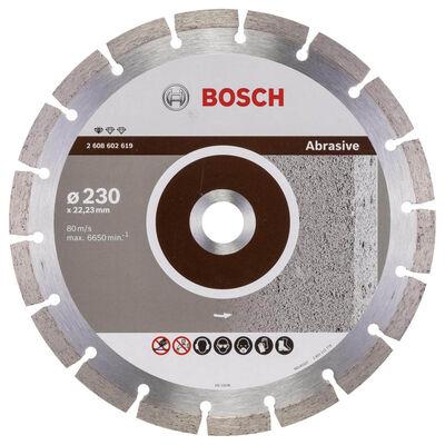 Bosch Standard Seri Aşındırıcı Malzemeler İçin Elmas Kesme Diski 230 mm