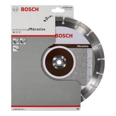 Bosch Standard Seri Aşındırıcı Malzemeler İçin Elmas Kesme Diski 230 mm BOSCH