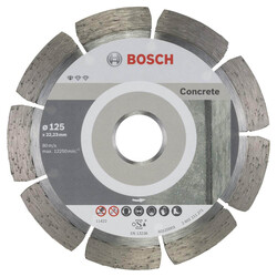 Bosch Standard Seri Beton İçin, 9+1 Elmas Kesme Diski Set 125 mm - Thumbnail