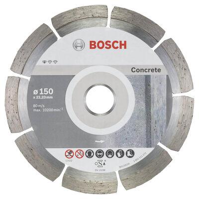 Bosch Standard Seri Beton İçin, 9+1 Elmas Kesme Diski Set 150 mm