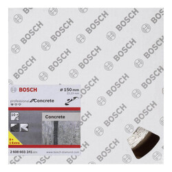 Bosch Standard Seri Beton İçin, 9+1 Elmas Kesme Diski Set 150 mm - Thumbnail
