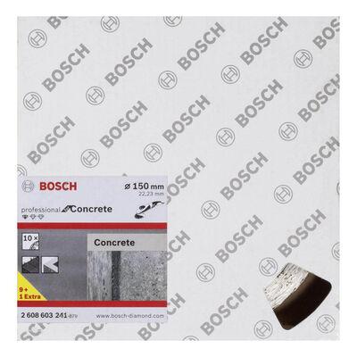 Bosch Standard Seri Beton İçin, 9+1 Elmas Kesme Diski Set 150 mm BOSCH
