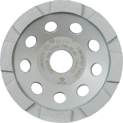 Bosch Standard Seri Beton İçin Elmas Çanak Disk 115 mm