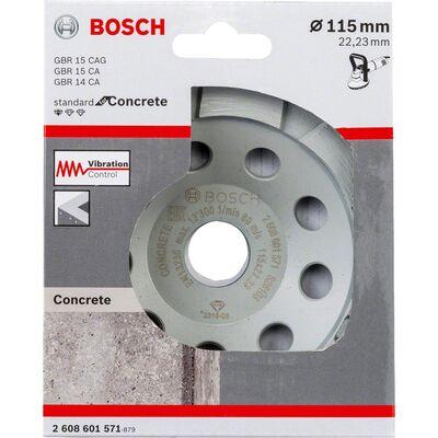 Bosch Standard Seri Beton İçin Elmas Çanak Disk 115 mm BOSCH