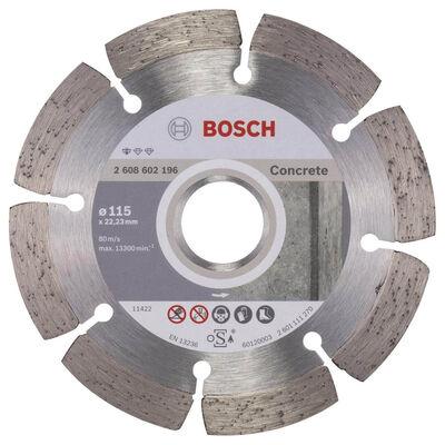 Bosch Standard Seri Beton İçin Elmas Kesme Diski 115 mm