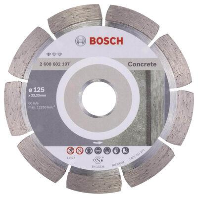 Bosch Standard Seri Beton İçin Elmas Kesme Diski 125 mm