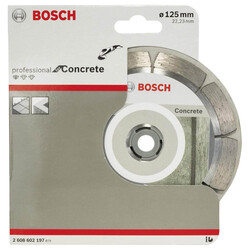 Bosch Standard Seri Beton İçin Elmas Kesme Diski 125 mm - Thumbnail