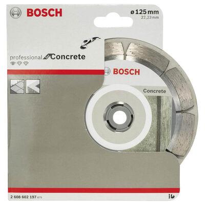 Bosch Standard Seri Beton İçin Elmas Kesme Diski 125 mm BOSCH