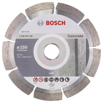 Bosch Standard Seri Beton İçin Elmas Kesme Diski 150 mm