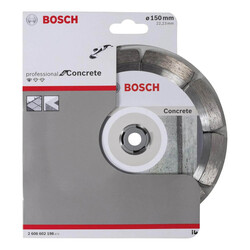 Bosch Standard Seri Beton İçin Elmas Kesme Diski 150 mm - Thumbnail