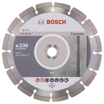 Bosch Standard Seri Beton İçin Elmas Kesme Diski 230 mm