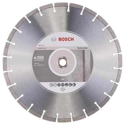 Bosch Standard Seri Beton İçin Elmas Kesme Diski 350 mm
