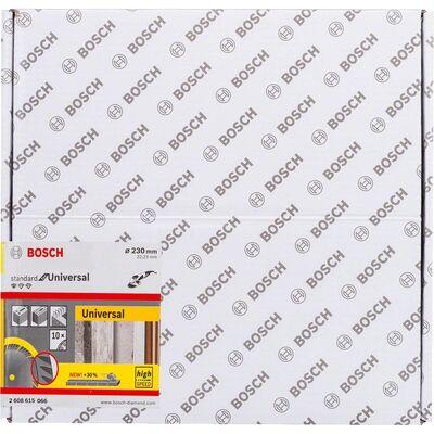 Bosch Standard Seri Genel Yapı Malzemeleri İçin Elmas Kesme Diski 230 mm 10'lu Paket BOSCH