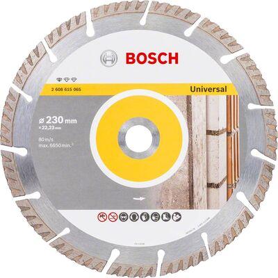 Bosch Standard Seri Genel Yapı Malzemeleri İçin Elmas Kesme Diski 230 mm