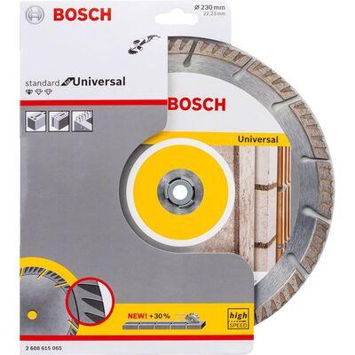 Bosch Standard Seri Genel Yapı Malzemeleri İçin Elmas Kesme Diski 230 mm BOSCH