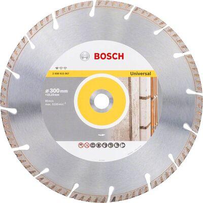 Bosch Standard Seri Genel Yapı Malzemeleri İçin Elmas Kesme Diski 300 mm