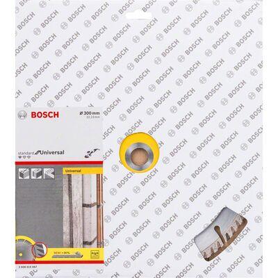 Bosch Standard Seri Genel Yapı Malzemeleri İçin Elmas Kesme Diski 300 mm BOSCH