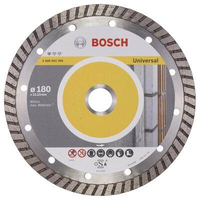 Bosch Standard Seri Genel Yapı Malzemeleri İçin Turbo Segmanlı Elmas Kesme Diski 180 mm