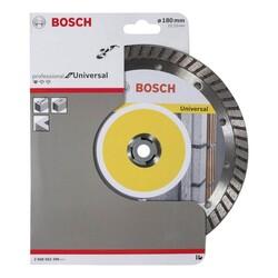 Bosch Standard Seri Genel Yapı Malzemeleri İçin Turbo Segmanlı Elmas Kesme Diski 180 mm - Thumbnail