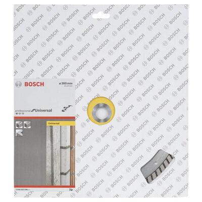 Bosch Standard Seri Genel Yapı Malzemeleri İçin Turbo Segmanlı Elmas Kesme Diski 300 mm BOSCH