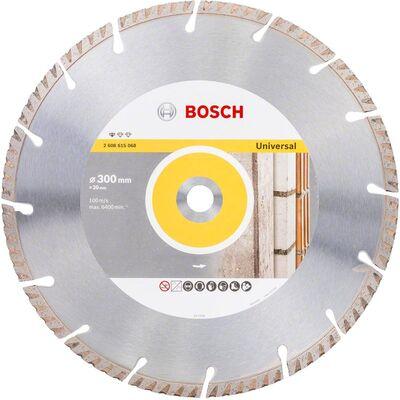 Bosch Standard Seri Genel Yapı Malzemeleri ve Metal İçin Elmas Kesme Diski 300*20 mm