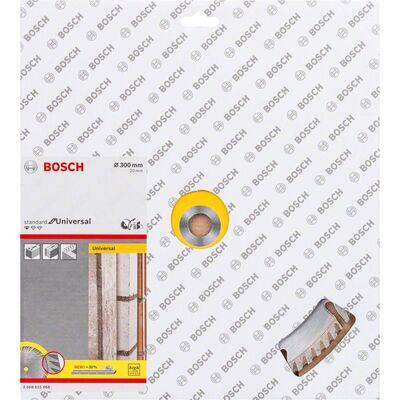 Bosch Standard Seri Genel Yapı Malzemeleri ve Metal İçin Elmas Kesme Diski 300*20 mm BOSCH