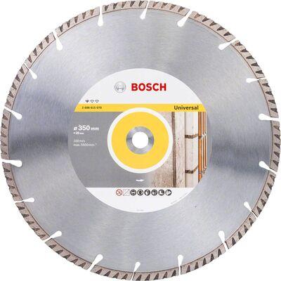 Bosch Standard Seri Genel Yapı Malzemeleri ve Metal İçin Elmas Kesme Diski 350*20 mm
