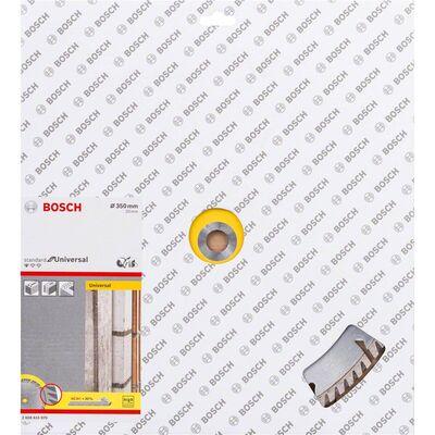 Bosch Standard Seri Genel Yapı Malzemeleri ve Metal İçin Elmas Kesme Diski 350*20 mm BOSCH