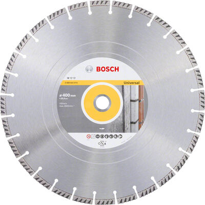 Bosch Standard Seri Genel Yapı Malzemeleri ve Metal İçin Elmas Kesme Diski 400*25,4 mm
