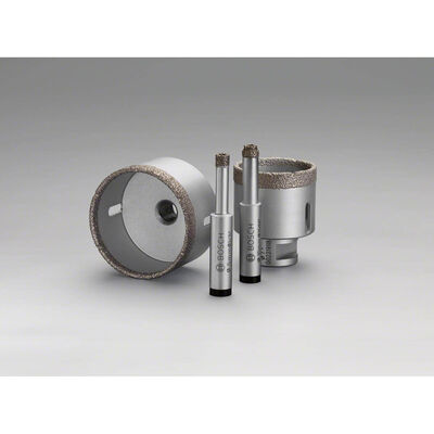 Bosch Standard Seri, Matkap İçin Seramik Kuru Elmas Delici 8*33 mm BOSCH