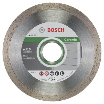 Bosch Standard Seri Seramik İçin, 9+1 Elmas Kesme Diski Set 115 mm