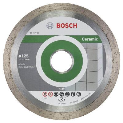 Bosch Standard Seri Seramik İçin, 9+1 Elmas Kesme Diski Set 125mm