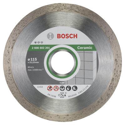Bosch Standard Seri Seramik İçin Elmas Kesme Diski 115 mm