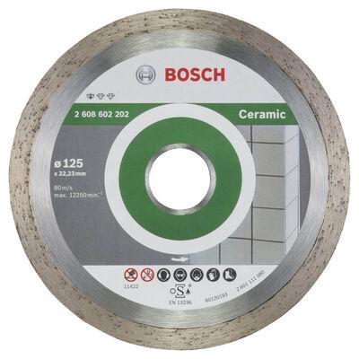 Bosch Standard Seri Seramik İçin Elmas Kesme Diski 125 mm