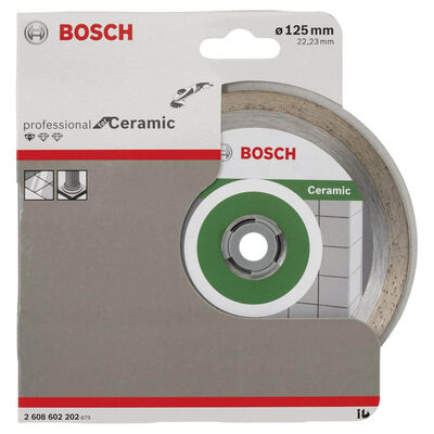Bosch Standard Seri Seramik İçin Elmas Kesme Diski 125 mm BOSCH