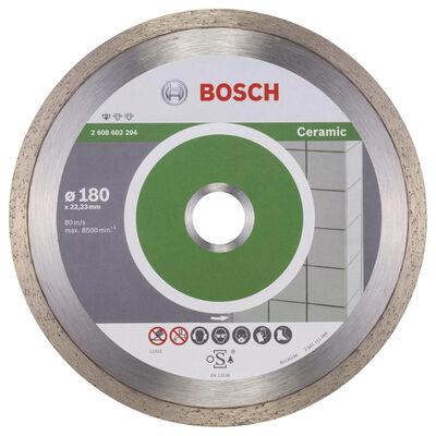 Bosch Standard Seri Seramik İçin Elmas Kesme Diski 180 mm
