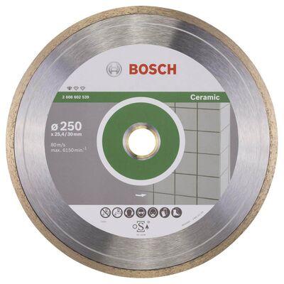 Bosch Standard Seri Seramik İçin Elmas Kesme Diski 250 mm
