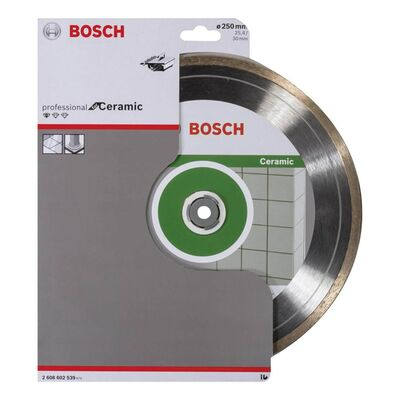 Bosch Standard Seri Seramik İçin Elmas Kesme Diski 250 mm BOSCH