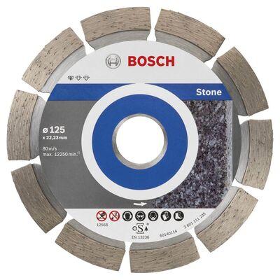 Bosch Standard Seri Taş İçin, 9+1 Elmas Kesme Diski Set 125mm