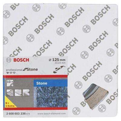 Bosch Standard Seri Taş İçin, 9+1 Elmas Kesme Diski Set 125mm BOSCH