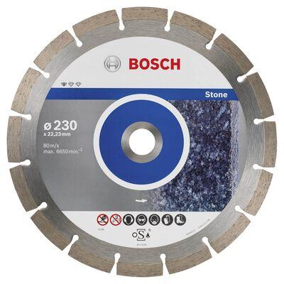 Bosch Standard Seri Taş İçin, 9+1 Elmas Kesme Diski Set 230mm