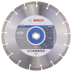 Bosch Standard Seri Taş İçin Elmas Kesme Diski 300 mm - Thumbnail
