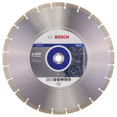 Bosch Standard Seri Taş İçin Elmas Kesme Diski 350 mm