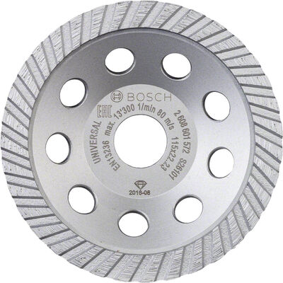 Bosch Standart Seri Universal Turbo Elmas Çanak Disk 115 mm