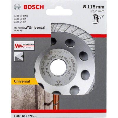 Bosch Standart Seri Universal Turbo Elmas Çanak Disk 115 mm BOSCH